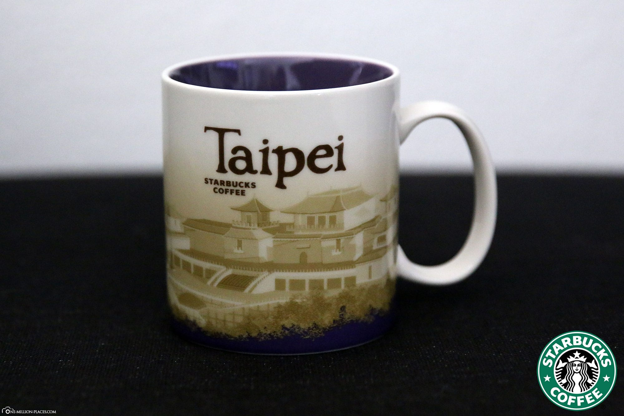 Taipeh, Starbucks Tasse, Global Icon Serie, City Mugs, Sammlung, Taiwan, Reisebericht