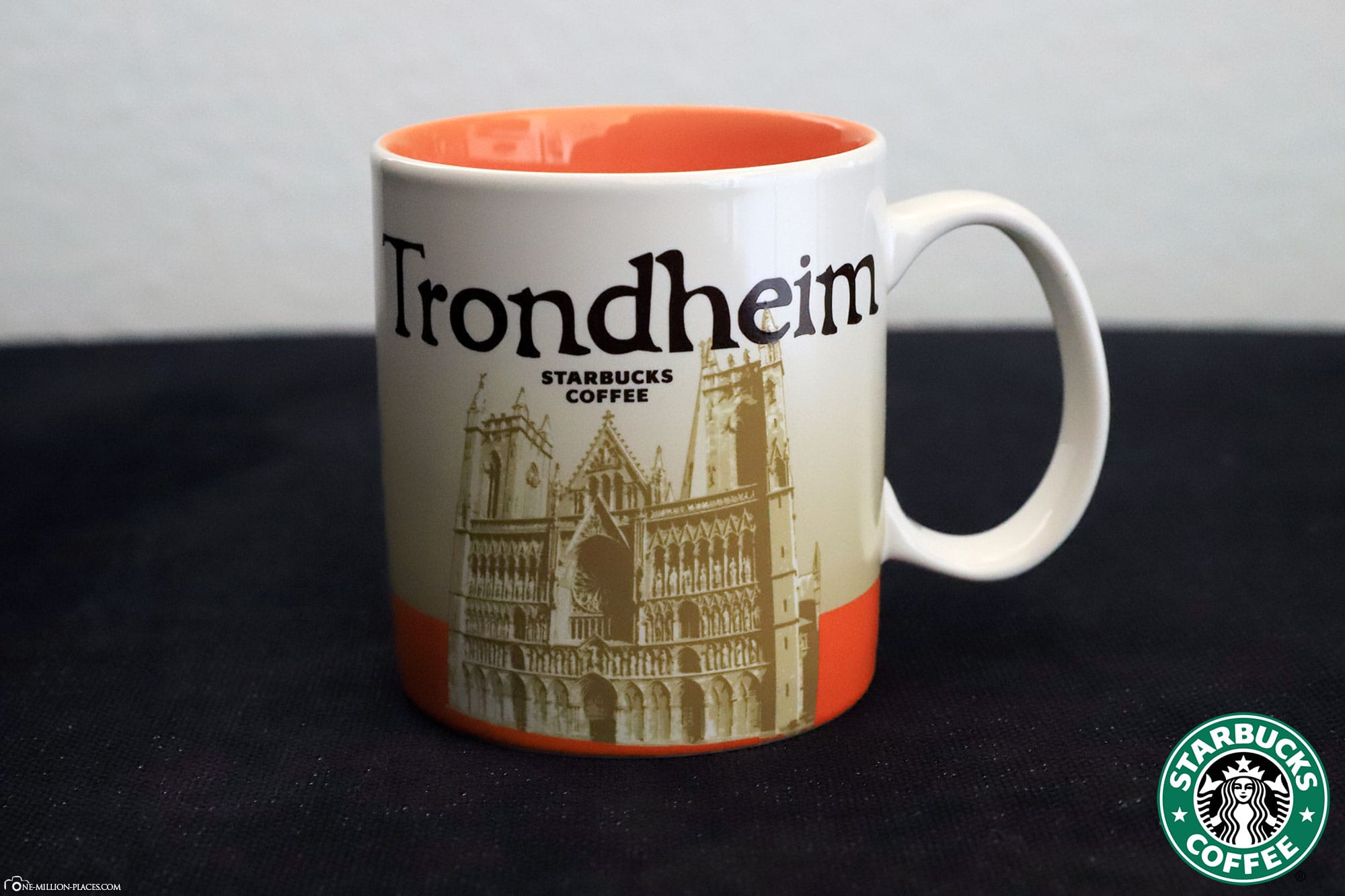 Trondheim, Starbucks Cup, Global Icon Series, City Mugs, Collection, Norway, Travelreport
