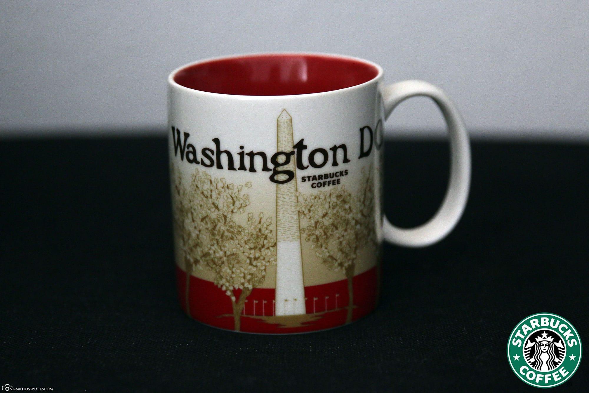 Washington DC, Starbucks Tasse, Global Icon Serie, City Mugs, Sammlung, USA, Reisebericht