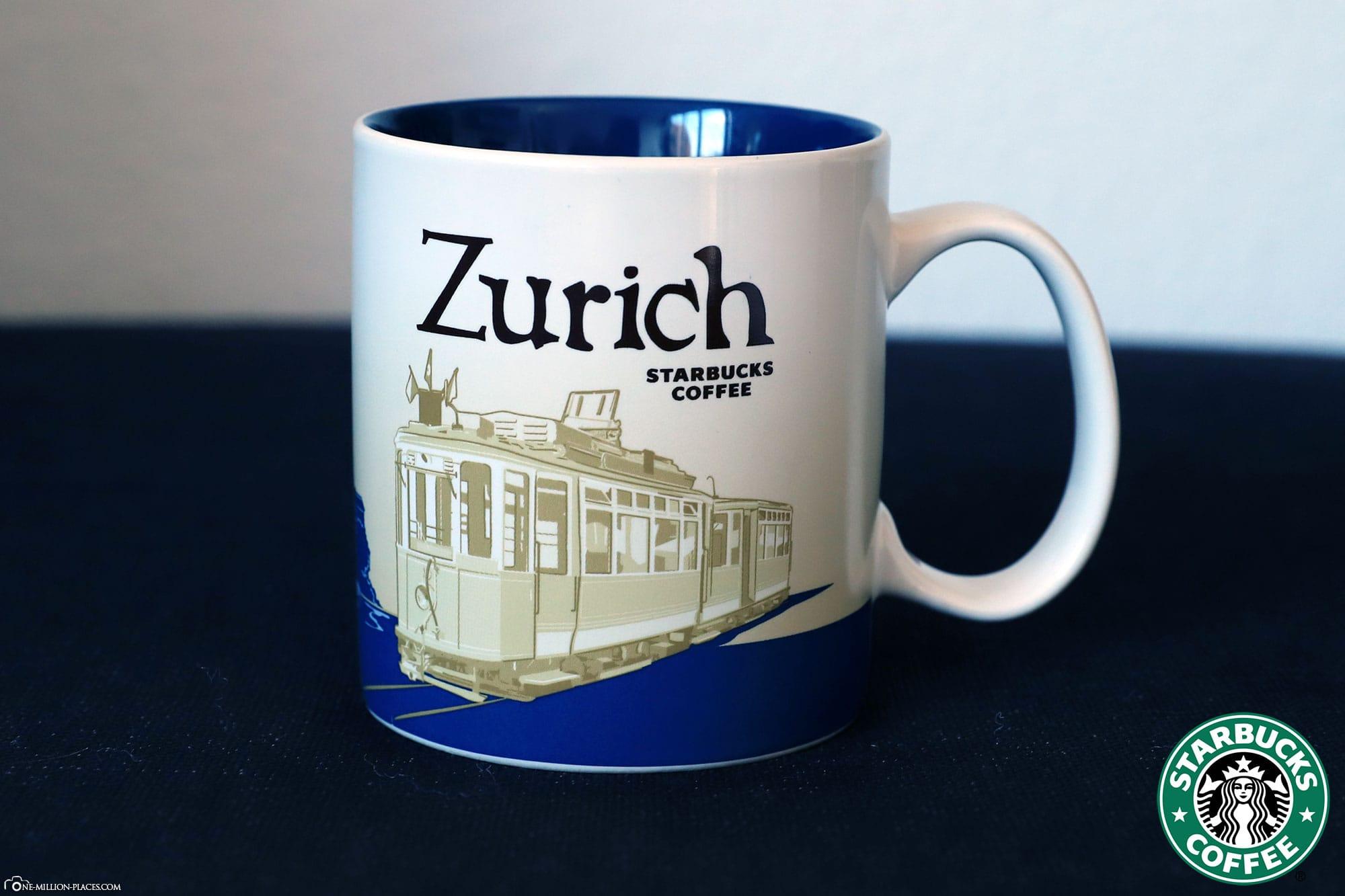 Zurich, Starbucks Tasse, Global Icon Serie, City Mugs, Sammlung, Schweiz, Reisebericht