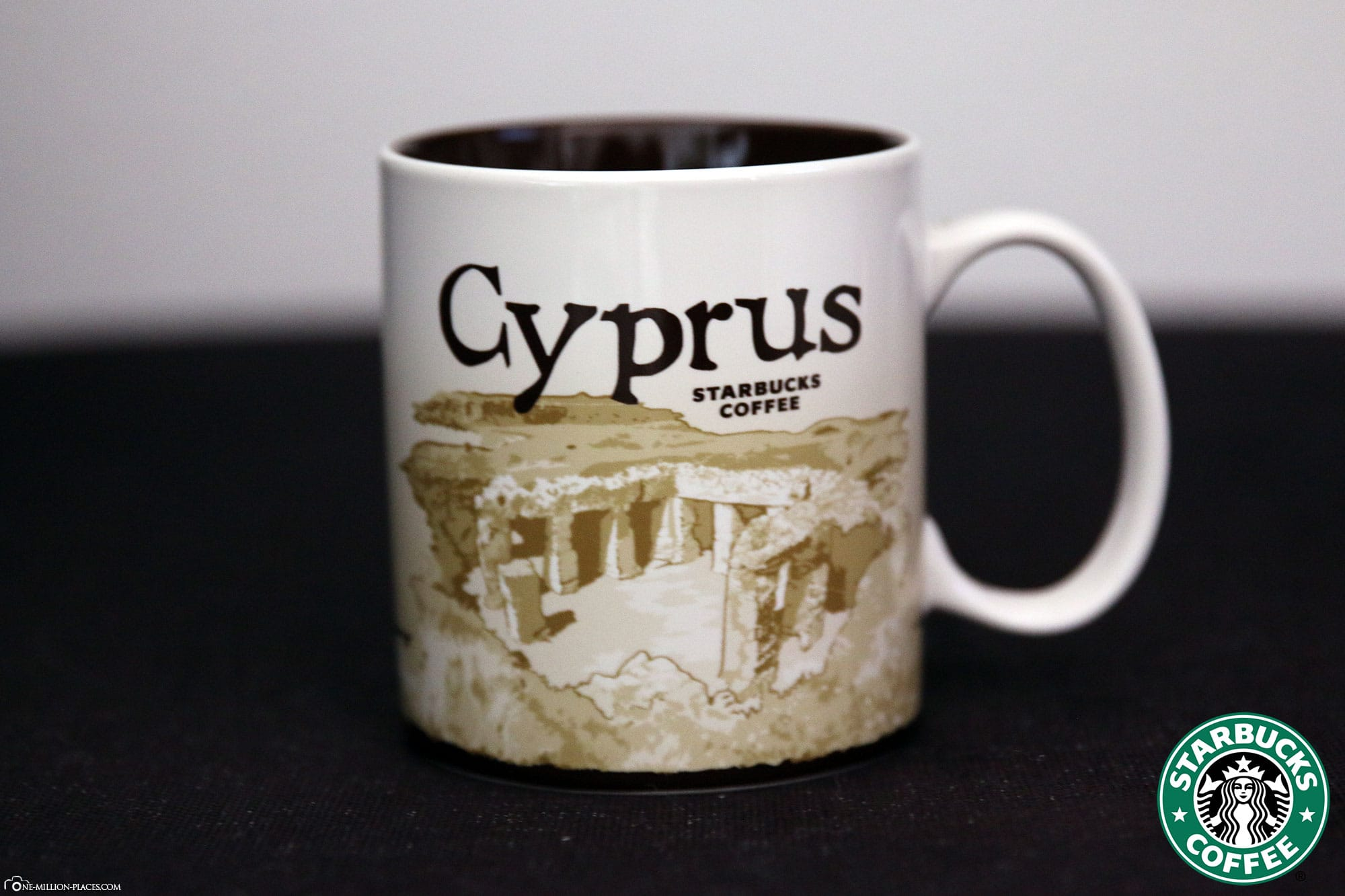 Cyprus, Starbucks Cup, Global Icon Series, City Mugs, Collection, Greece, Travelreport