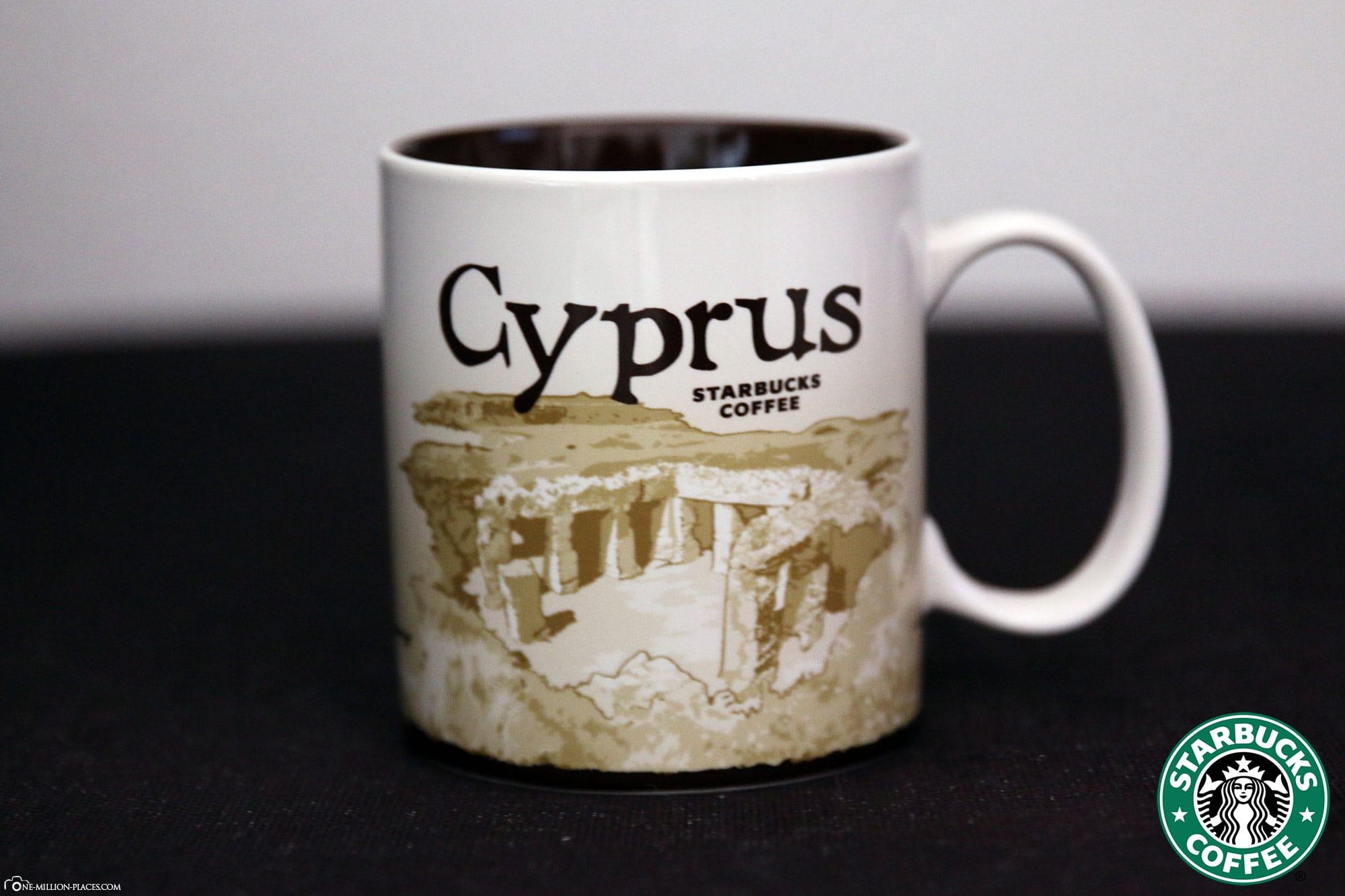 Zypern, Starbucks Tasse, Global Icon Serie, City Mugs, Sammlung, Griechenland, Reisebericht