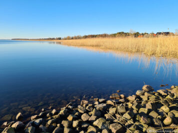 Blick aufs Achterwasser