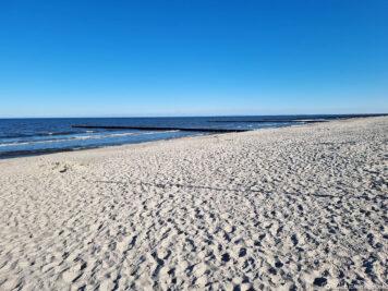 Der Strand in Loddin