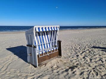 Der Strand am Bernsteinbad Ückeritz