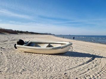 Der Strand in Ahlbeck