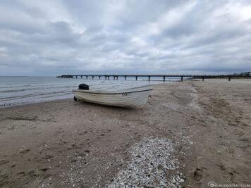 Der Strand in Bansin