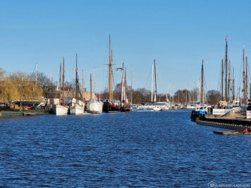 The River Ryck at the Museum Harbour
