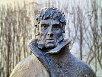 Statue of Caspar David Friedrich