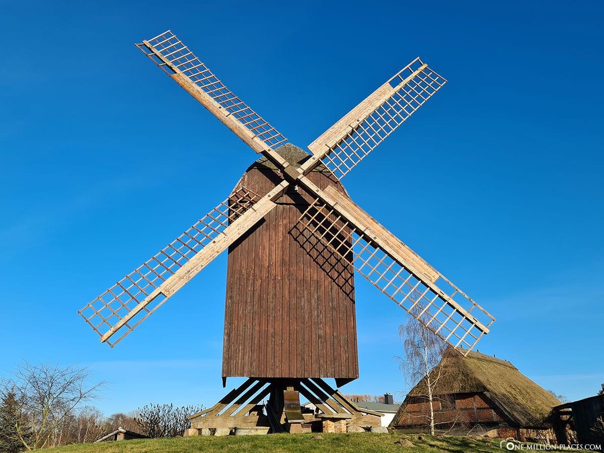 Windmill Eldena, Greifswald, Sights, Photo spots, Baltic Sea, Mecklenburg-Vorpommern, Germany, Travel report