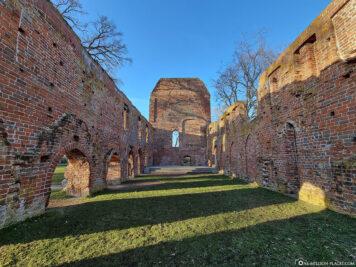 The ruins of the monastery of Eldena