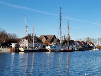 The city harbour Wieck