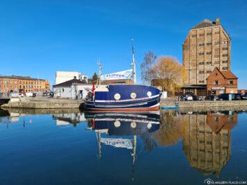 Der Hafen am Strelasund