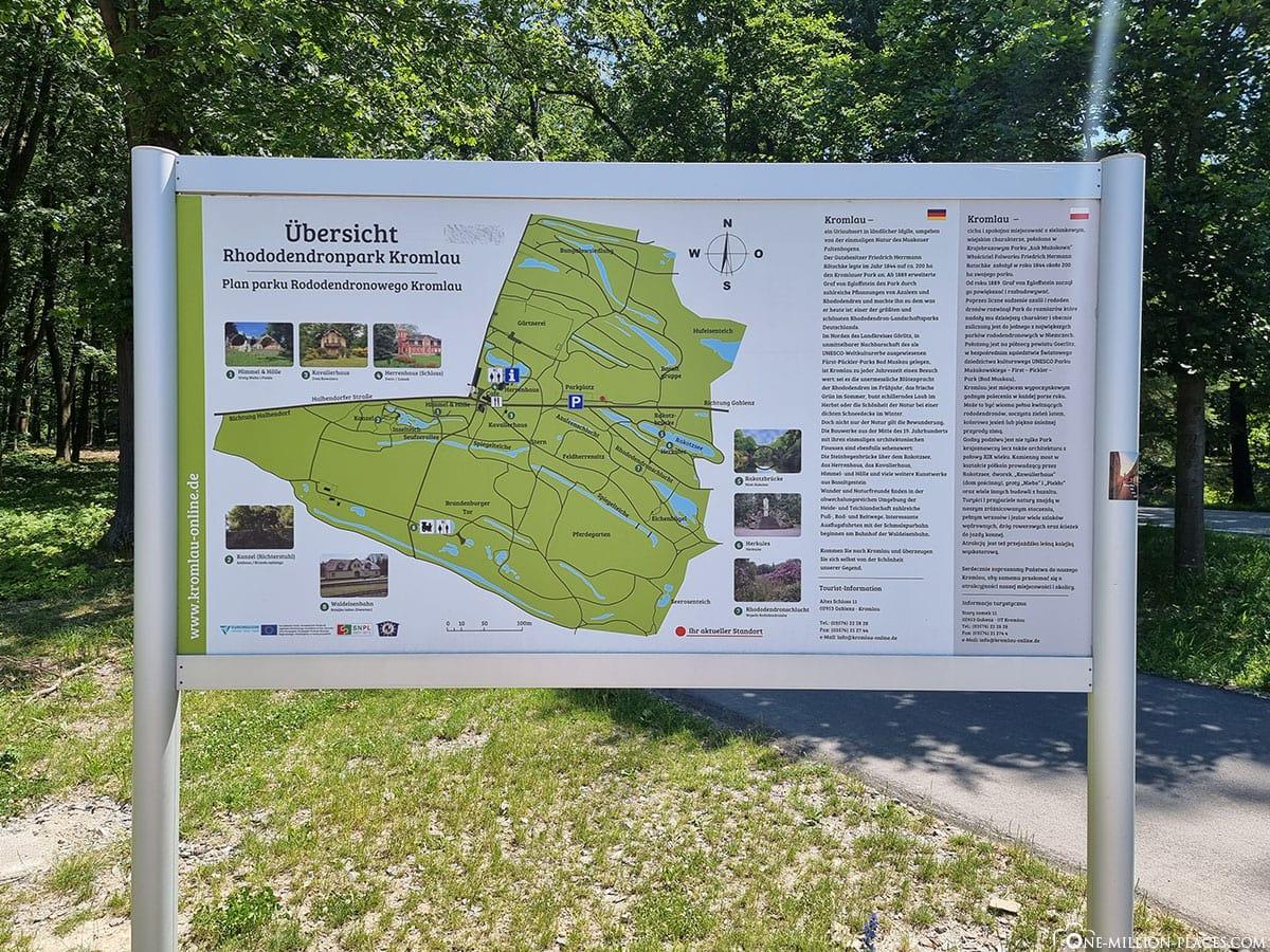 Kromlau, Rhododendronpark, Sachsen, Deutschland, Reisebericht