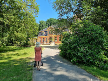 Weg zum Herrenhaus