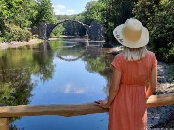 Fotospot für die Rakotzbrücke