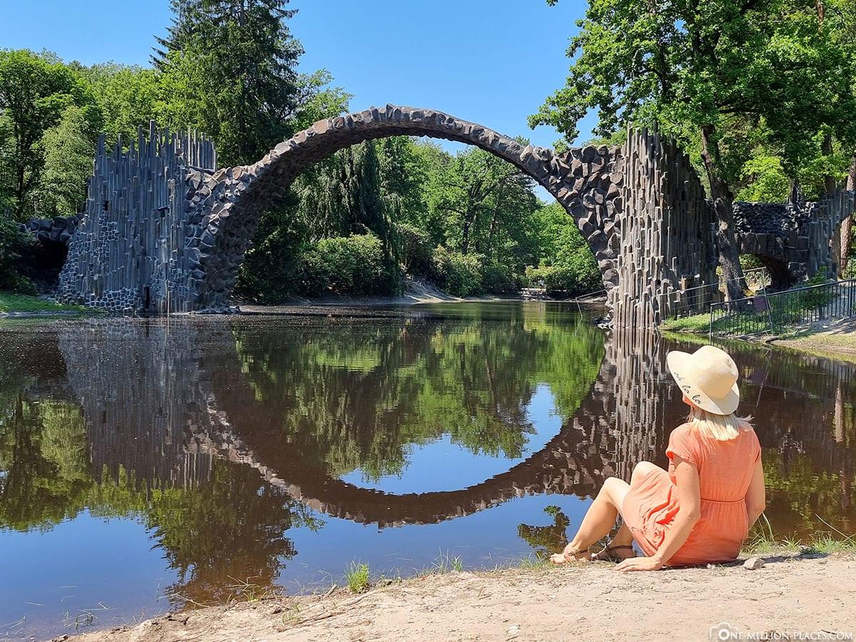 Instagram, Rakotzbrücke, Kromlau, Rhododendronpark, Reisebericht, Deutschland