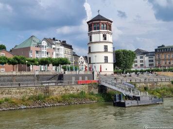 Blick auf den Burgplatz