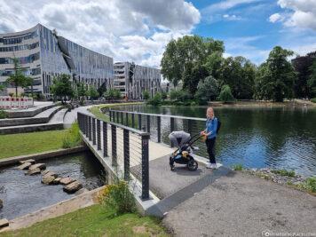 Brücke über die Nördliche Düssel