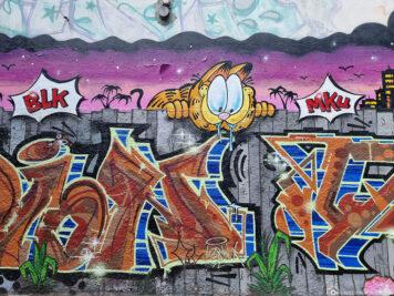 Streetart in der Kiefernstraße