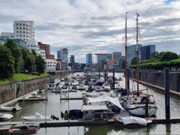 Die Marina Düsseldorf