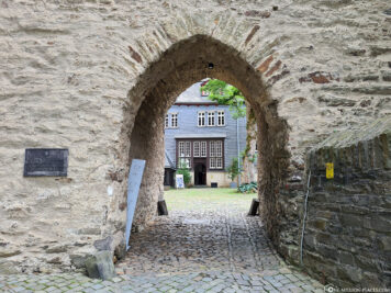 Entrance to the Upper Castle