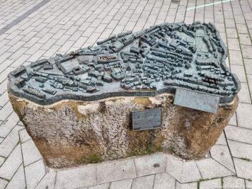 Model of the city of Siegen