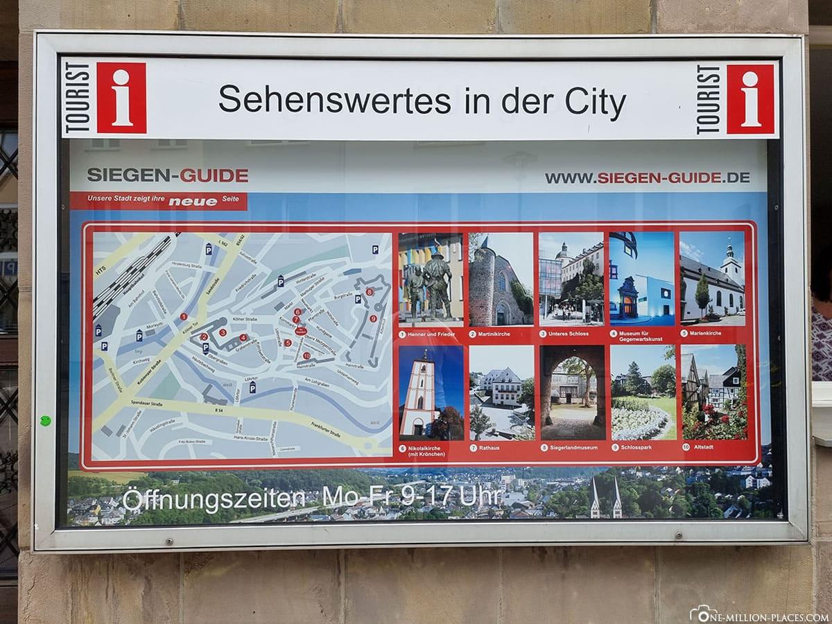 Siegen City Map Sights