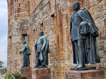 Statues of the Prussian kings