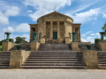 The funerary chapel on the Württemberg
