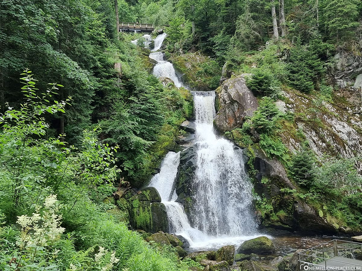 Highest waterfall Germany, Black Forest, sights