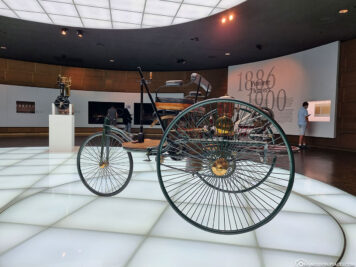 The patent motor car from Carl Benz