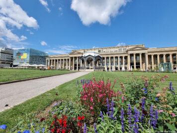 Music Pavilion & the Königsbau Passages