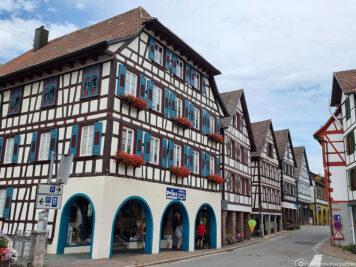 Die Altstadt von Schiltach
