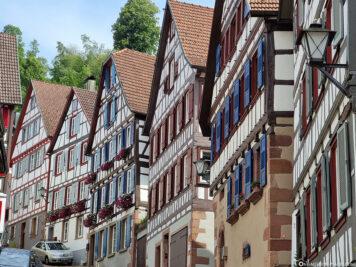Fachwerkensemble in Schiltach