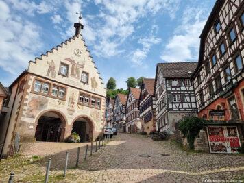 Das Rathaus im Renaissancestil