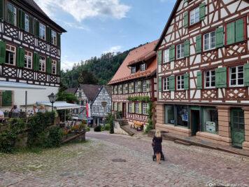 Der Maktplatz in Schiltach