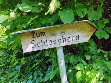 Aufstieg zum Schlossberg