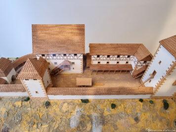 Die ehemalige Burg Schiltach