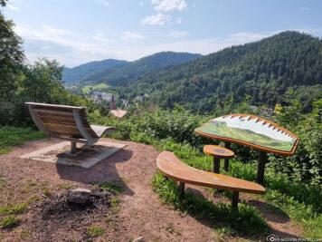 Der Ausblick vom Schlossberg