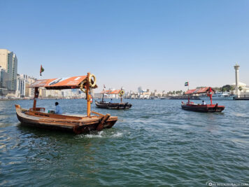 Wassertaxis in Dubai