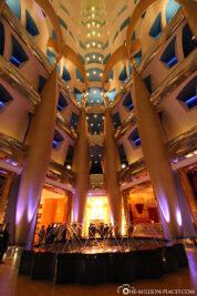 Das Atrium des Hotels