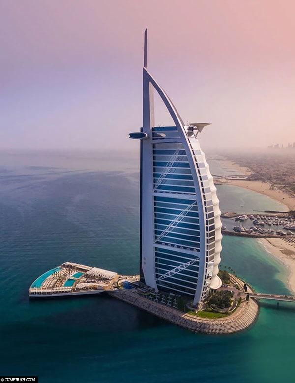 Burj Al Arab, Dubai, Luxushotel