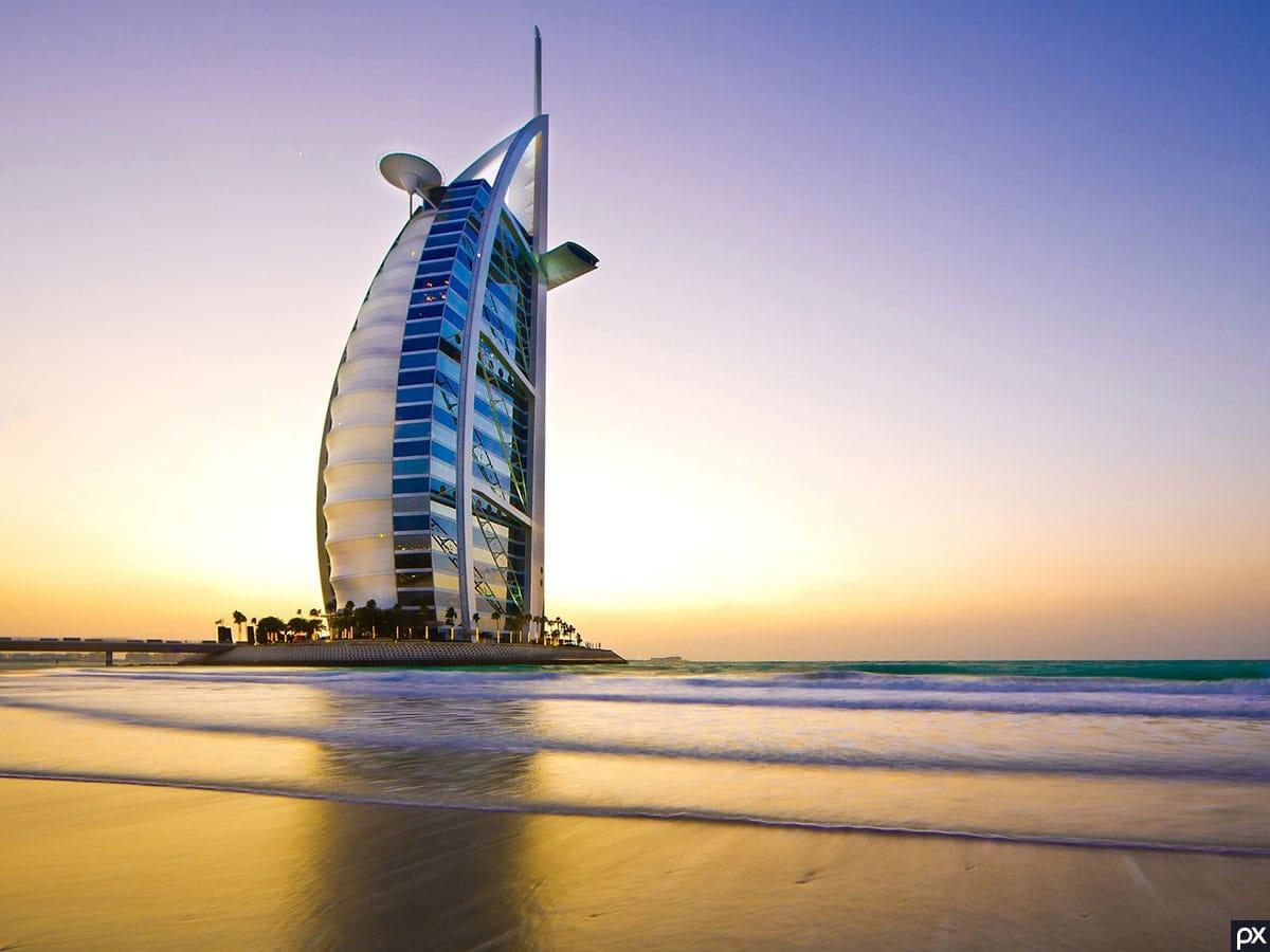 Jumeirah Beach, Burj Al Arab, Dubai
