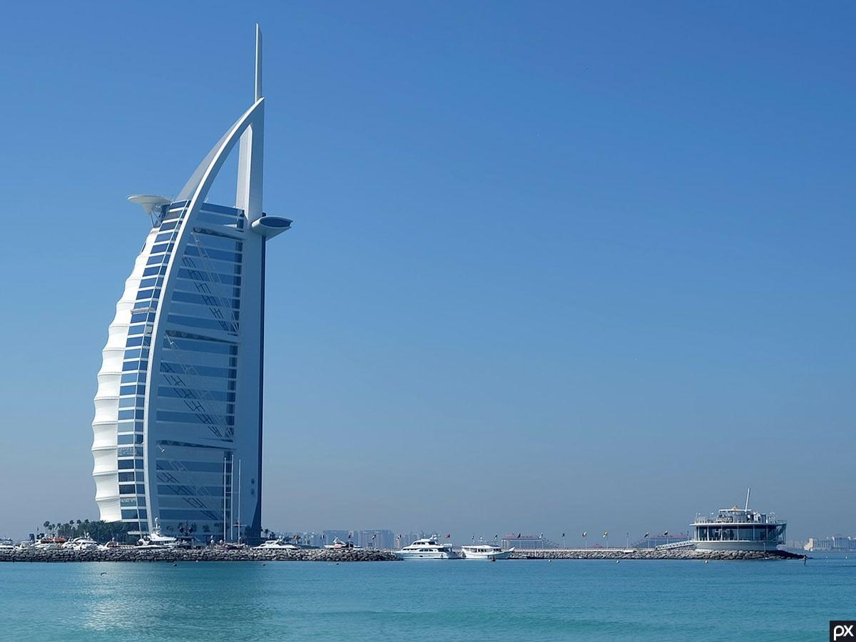 Umm Suqeim Beach, Burj Al Arab, Fotospot