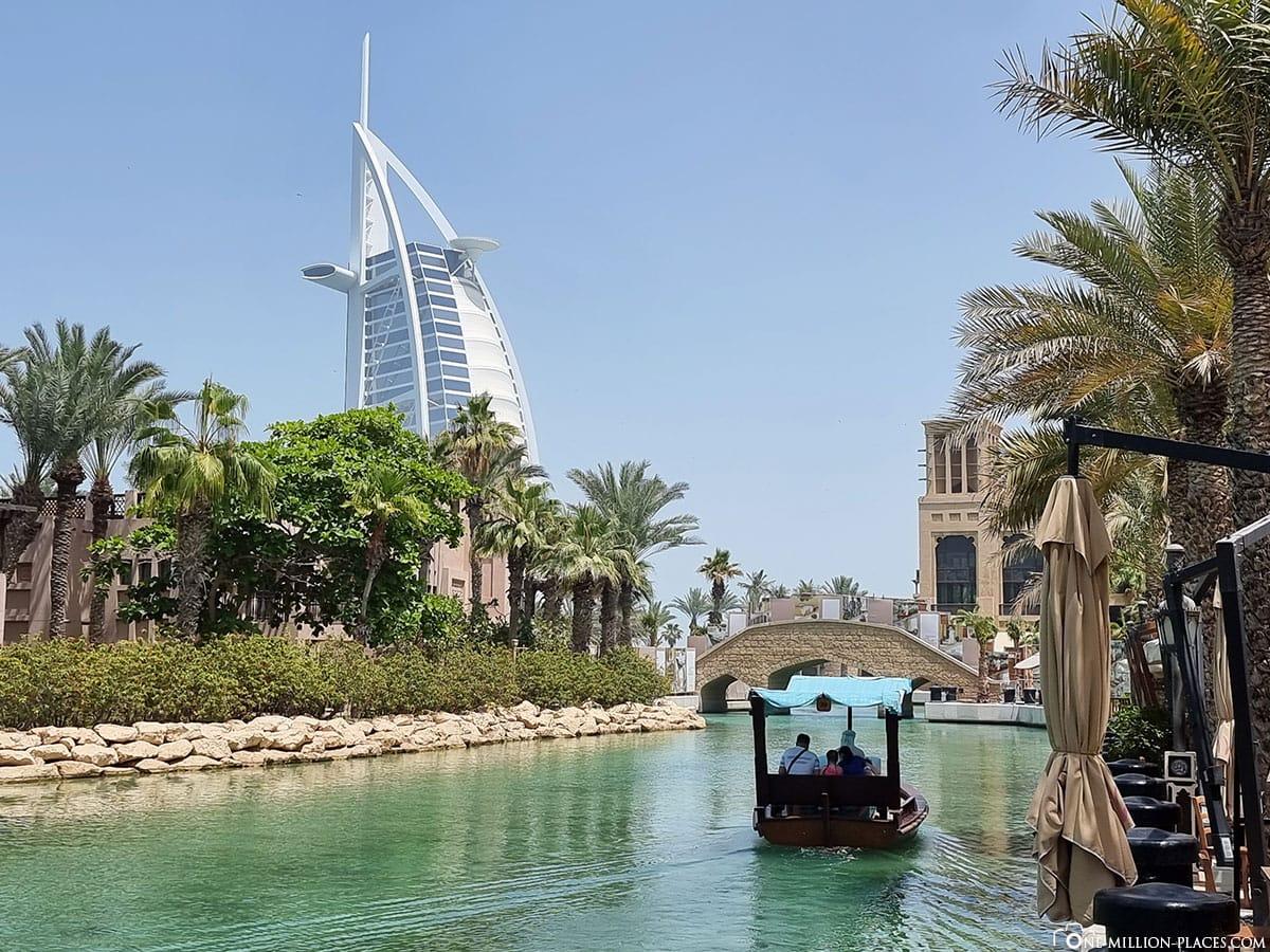 Souk Madinat, Boottour, Burj Al Arab, Fotospot