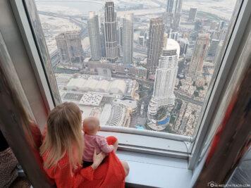 Blick von At the Top über Dubai
