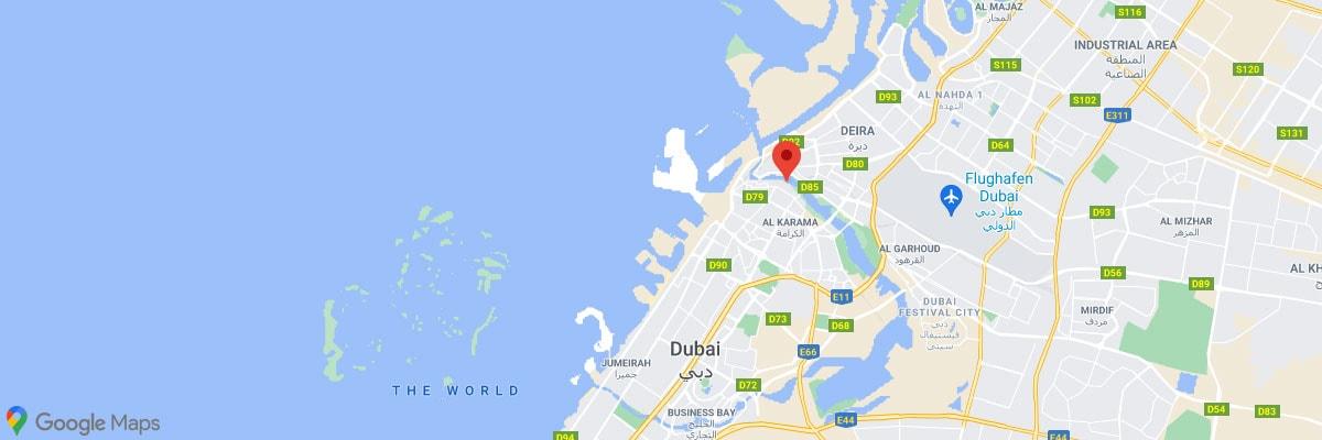 Dubai Al Seef Lage