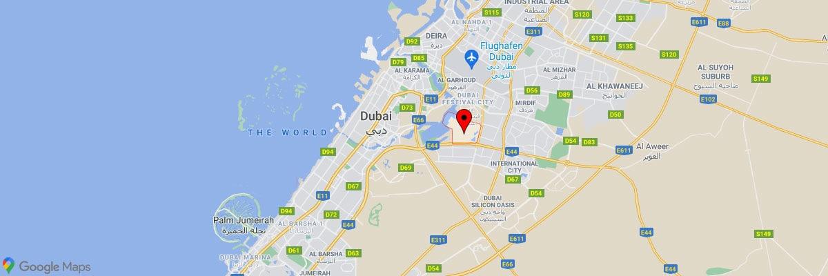 Dubai Creek Harbour, Location, Map, Travelreport