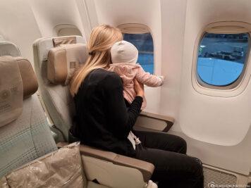 Unser Flug nach Dubai